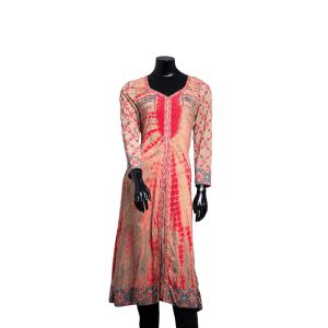 Tie Dyed Batik Kameez